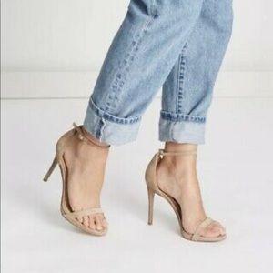 Sam Edelman Ariella Ankle Strap Sandal Nude Suede